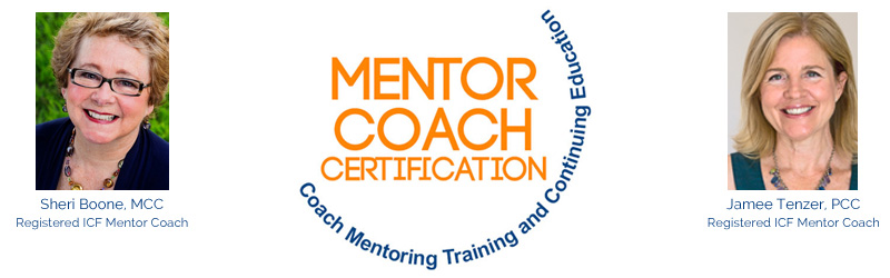 mentor coach certification training for icf credentialed coaches